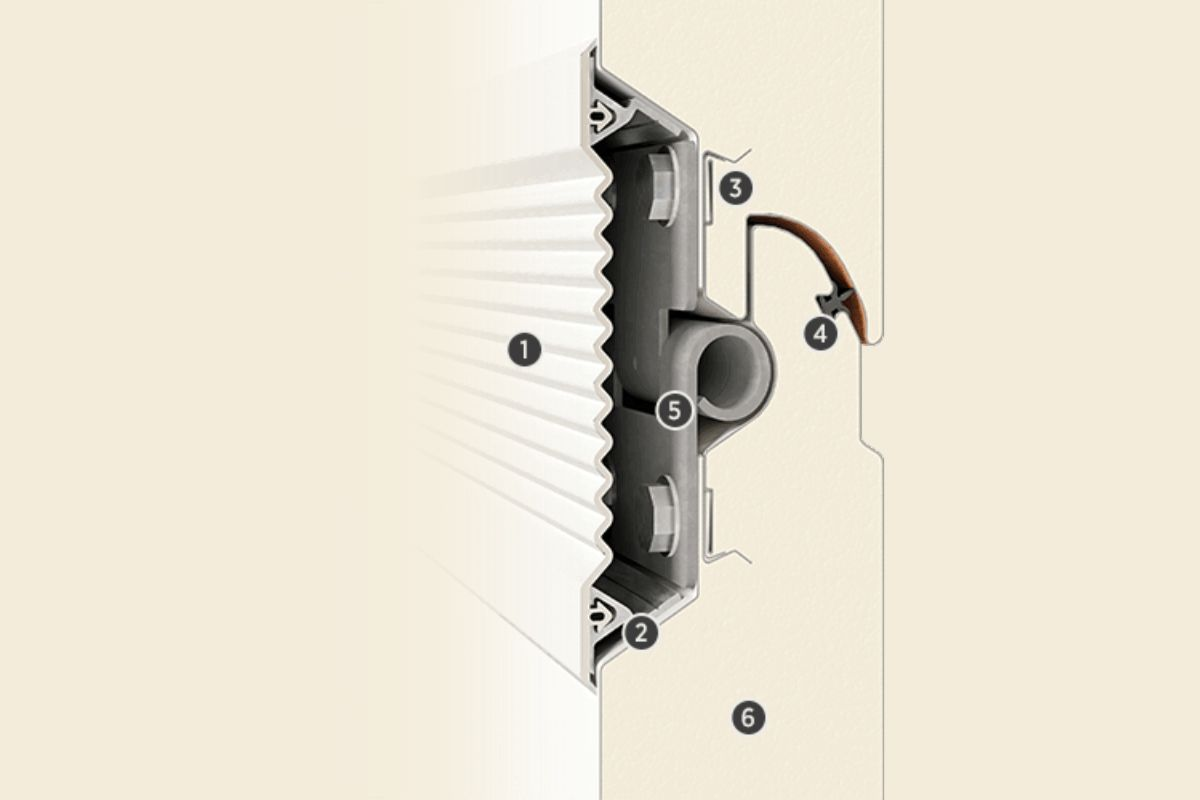 INNOVO-PANEEL 60MM INNOVATIVER DURCHBRUCH