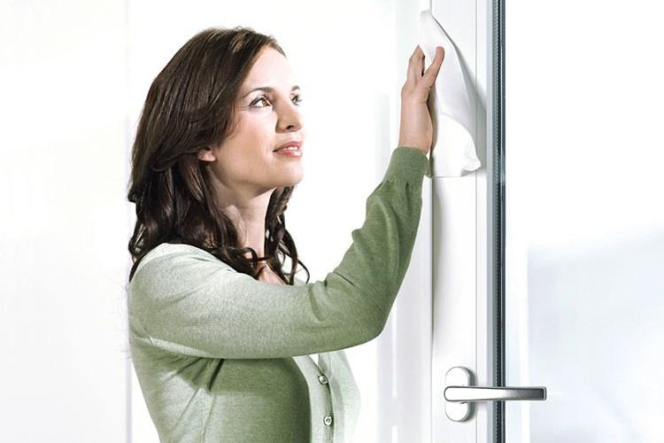 Pflege Kunststoff-Fensterprofile